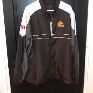 Cleveland Browns full zip jacket